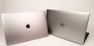 laptopuri Apple versus Dell